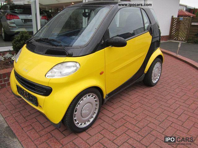 1998 Smart Black Lemon Small Car