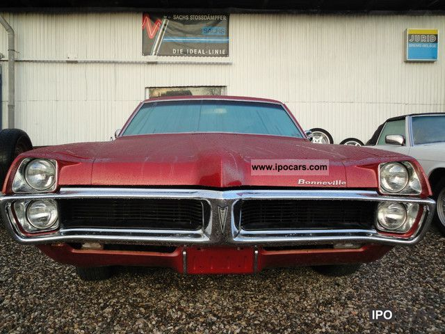 1967 Pontiac  2 DOOR COUPE FULL SIZE Bonneville Sports car/Coupe Used vehicle photo