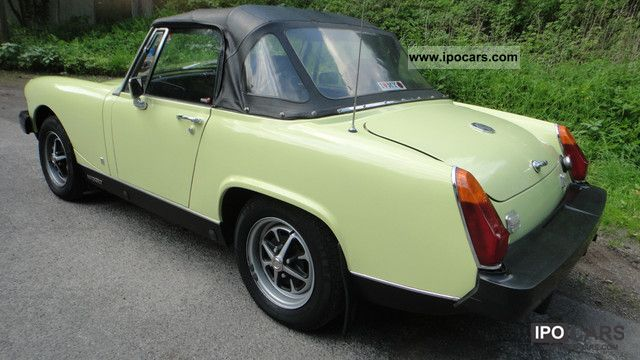 MG  Midget with admission H 1977 Vintage, Classic and Old Cars photo