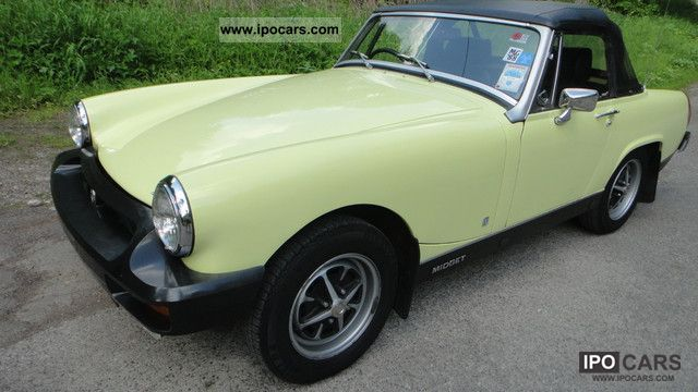 Mg midget specification