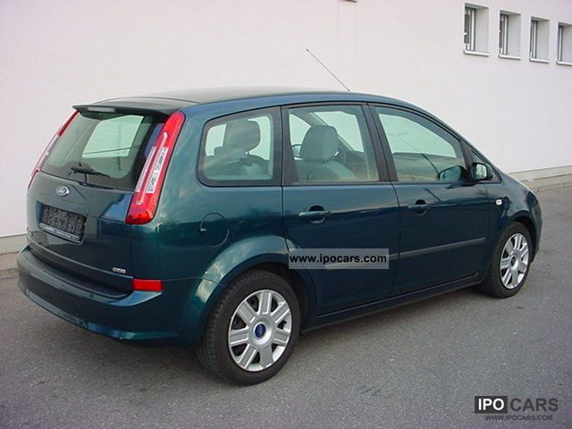 2007 ford c max 1 6 tdci style with navi car photo and specs. Black Bedroom Furniture Sets. Home Design Ideas