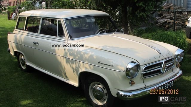 Borgward  Isabella 1.5 Estate 1959 Vintage, Classic and Old Cars photo