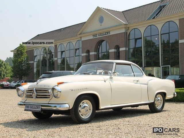 Borgward  Isabella Coupe SUNROOF WITH 1960 Vintage, Classic and Old Cars photo