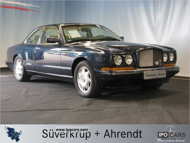 1993 Bentley  Continental R Coupe by Park Ward Multiliner NAVI Sports car/Coupe Used vehicle photo