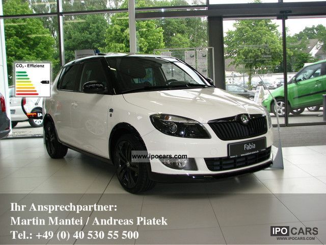2012 Skoda  Fabia 1.2 TSI Monte Carlo SHZ PDC KLIMAAUTOMATIK Small Car New vehicle photo