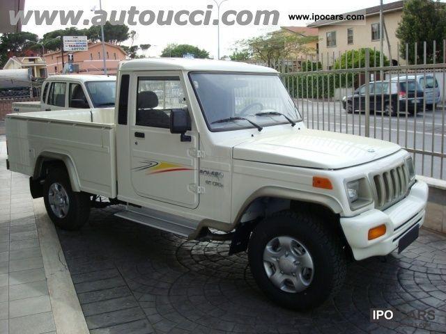 2012 Mahindra  5.2 CRDE Bolero 2WD Pick Up Other New vehicle photo