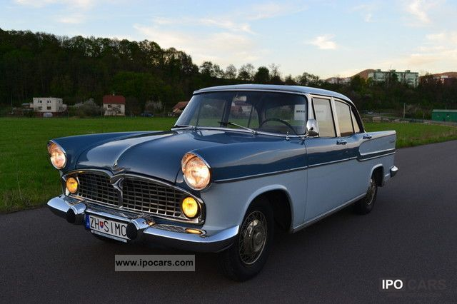 Talbot  Simca Vedette Chambord 1959 Vintage, Classic and Old Cars photo