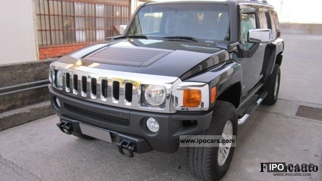 Hummer  H3 3.5 Platinum 2007 Liquefied Petroleum Gas Cars (LPG, GPL, propane) photo
