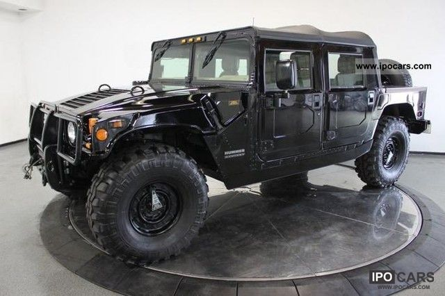 2000 Hummer  H1 Open Top Off-road Vehicle/Pickup Truck Used vehicle photo