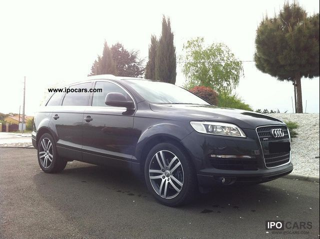 2007 audi q7 3 0 tdi s line quattro 6pl car photo and specs. Black Bedroom Furniture Sets. Home Design Ideas