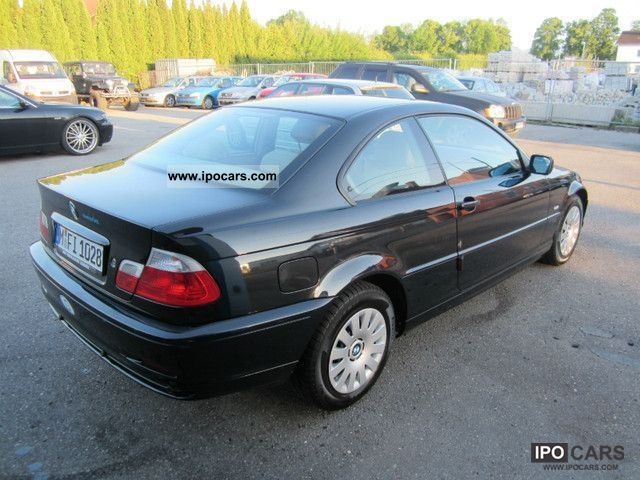2002 bmw 318 ci climate control leather euro4 car photo and specs. Black Bedroom Furniture Sets. Home Design Ideas