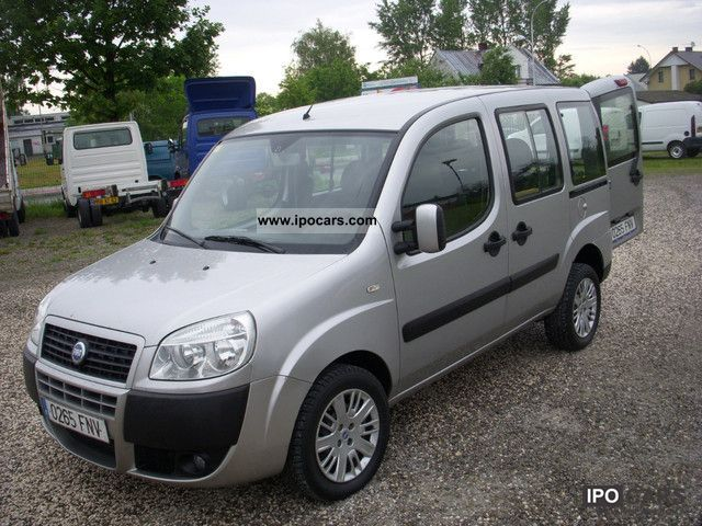 2007 fiat doblo 1 9 jtd 105 km air 5 seats car photo and specs. Black Bedroom Furniture Sets. Home Design Ideas