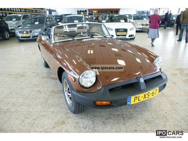 MG  B TOURER U.S. 1979 Vintage, Classic and Old Cars photo