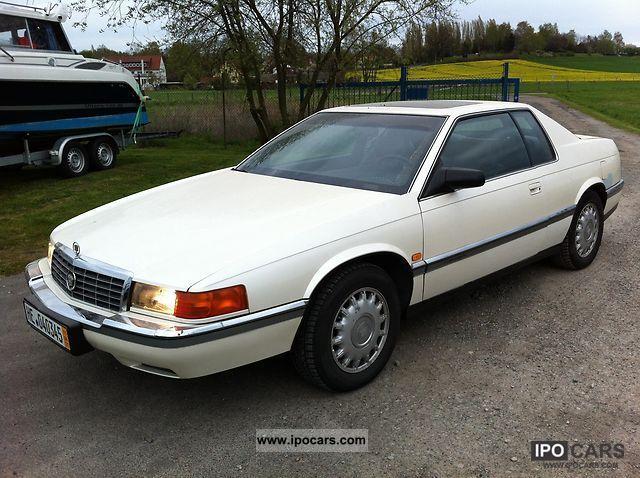 1992 cadillac eldorado car photo and specs ipocars com