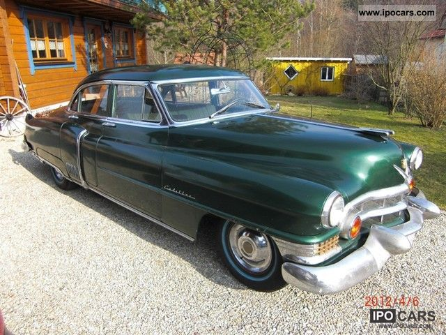 Cadillac  4door sedan `51 he 60 Special with TÜV / H-report 1951 Vintage, Classic and Old Cars photo