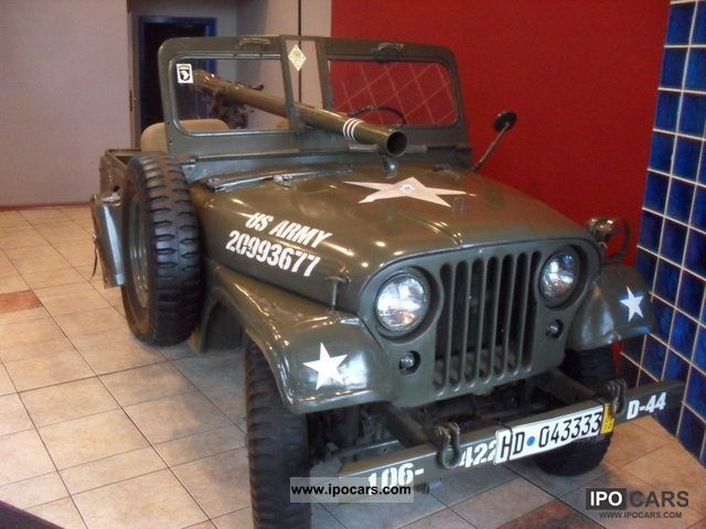 Jeep  Willys M38 1955 Vintage, Classic and Old Cars photo