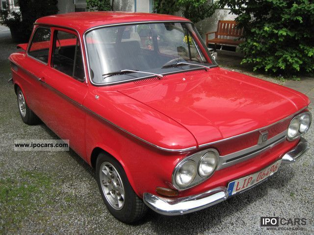 NSU  1000 \ 1970 Vintage, Classic and Old Cars photo