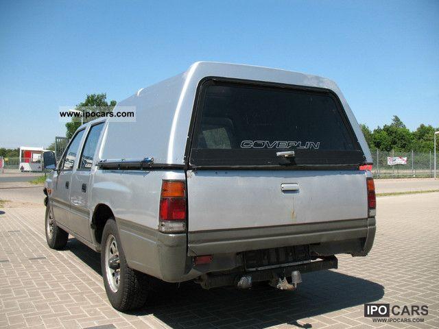 1991 isuzu pick up 2 5 diesel with hartop off road vehicle pickup