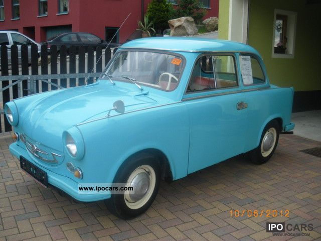 Trabant  P60 1964 Vintage, Classic and Old Cars photo