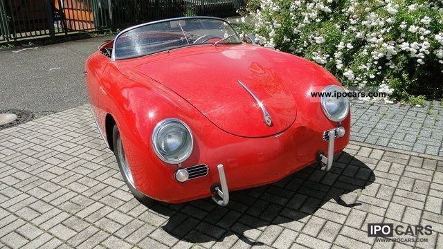 Porsche  356 Speedster 1957 Vintage, Classic and Old Cars photo
