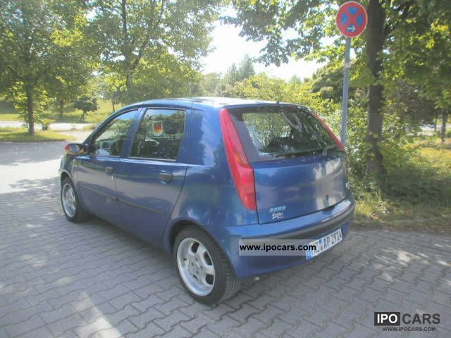 2003 fiat punto 1 2 16v dynamic speedgear car photo and specs. Black Bedroom Furniture Sets. Home Design Ideas