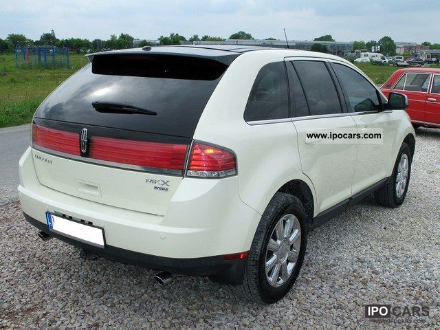 2007 lincoln mkx car photo and specs. Black Bedroom Furniture Sets. Home Design Ideas