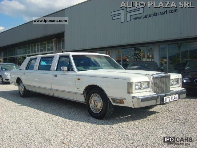 1986 Lincoln  Town Car Sedan Limousine Used vehicle photo