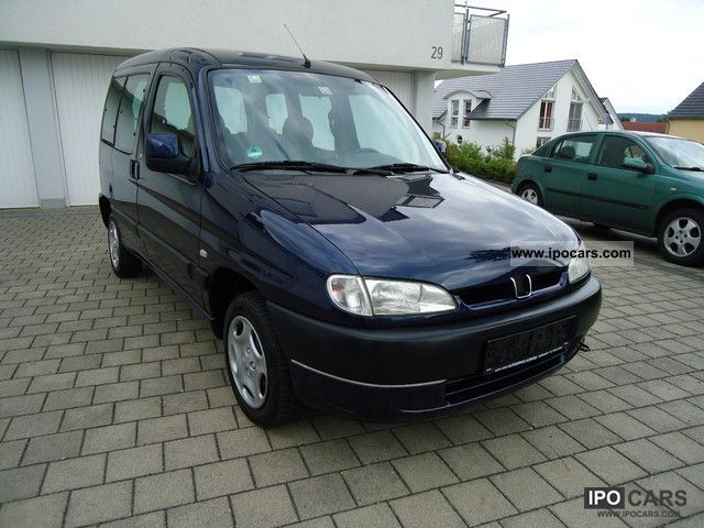 2001 Peugeot  Partners 1.8 * Quiksilver * Climate * 137.000KM 1.Hand * D3 * Estate Car Used vehicle photo