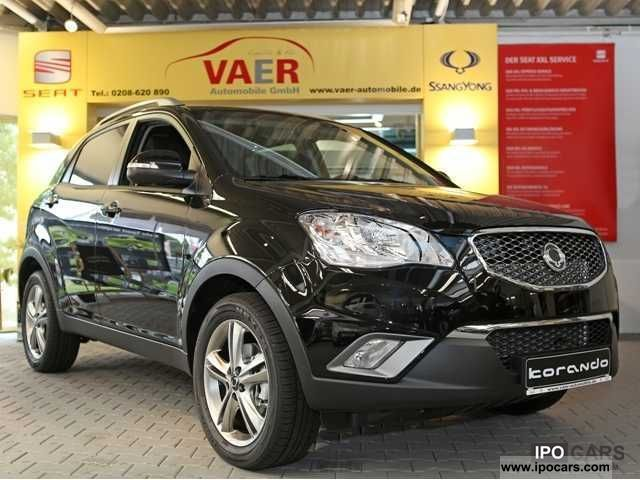 2012 Ssangyong  Korando Sapphire e-200 4WD Auto XDi Estate Car New vehicle photo