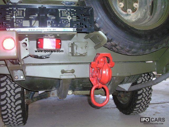 1987 Volkswagen Iltis Bombardier Army Car Photo And Specs