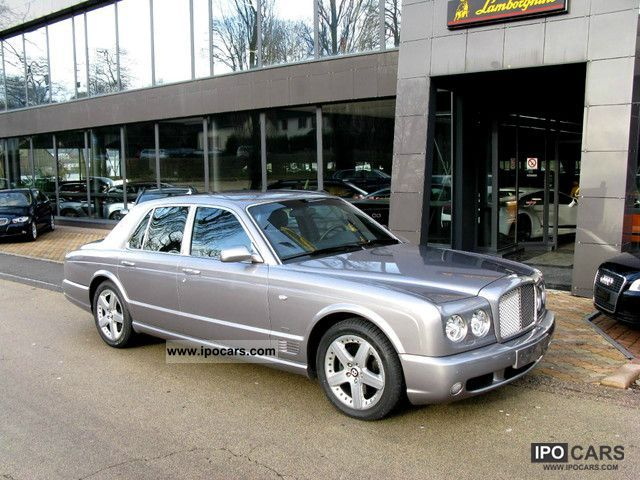 2005 Bentley Arnage T Breitling Edition Car Photo And Specs