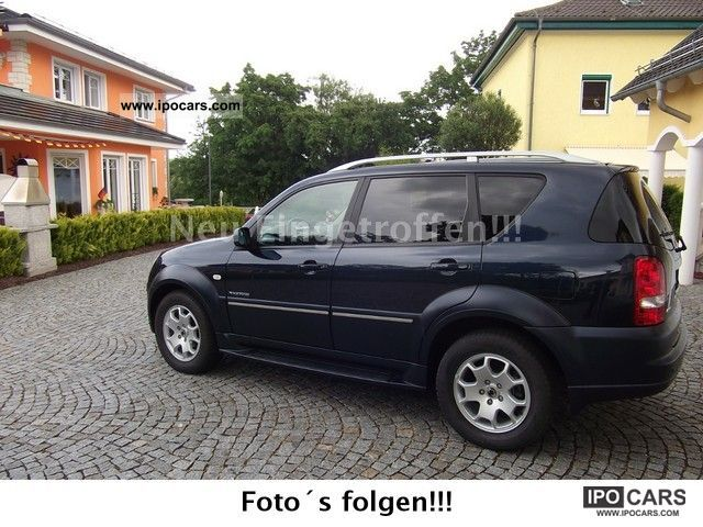 2009 ssangyong rexton rx 270 xdi 4 automatic s t v new. Black Bedroom Furniture Sets. Home Design Ideas