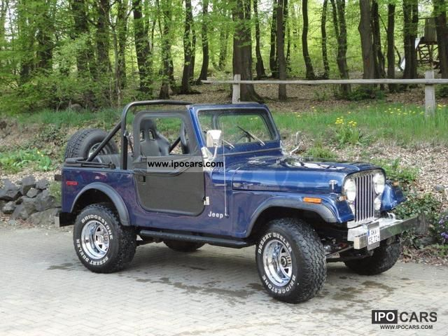 1979 Jeep  CJ 7 Cabrio / roadster Classic Vehicle photo