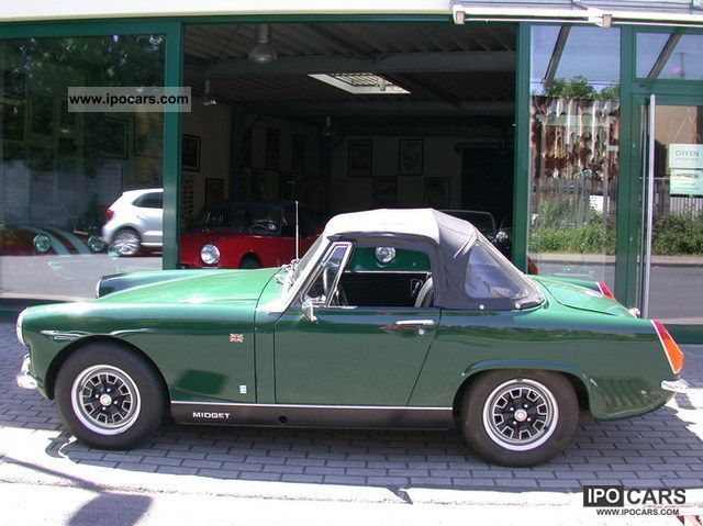 MG  Midget MK 3 1971 Vintage, Classic and Old Cars photo