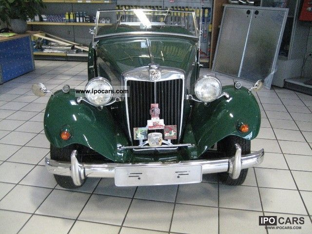MG  TD RHD 1949 Vintage, Classic and Old Cars photo