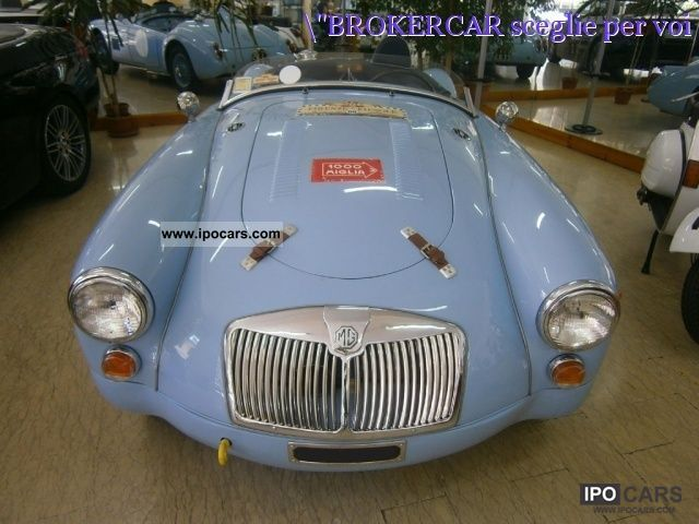 MG  MGA 1600 \ 1961 Vintage, Classic and Old Cars photo