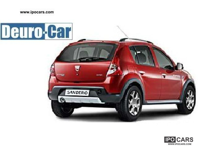 2012 dacia sandero stepway 6 1 sound air bearing vehicle car photo and specs. Black Bedroom Furniture Sets. Home Design Ideas
