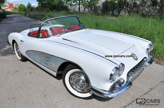 Corvette  C1 1959 Hardtop 1959 Vintage, Classic and Old Cars photo