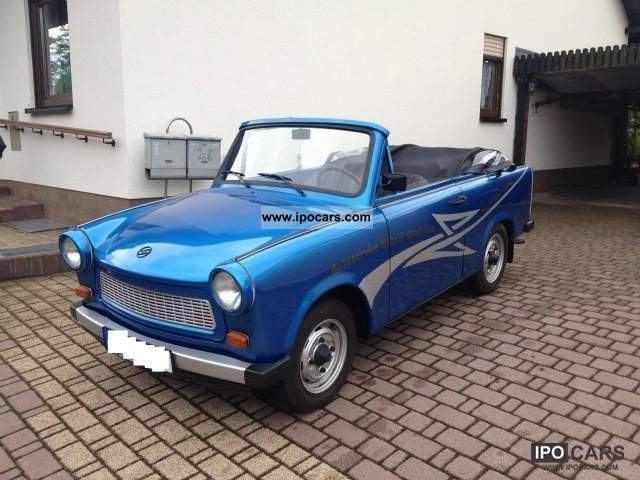 Trabant  * Convertible * NEURESTAURATION 1975 Vintage, Classic and Old Cars photo