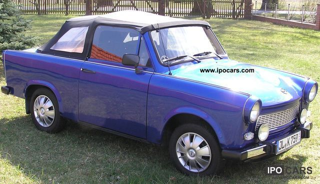 1989 Trabant  Deluxe Convertible Cabrio / roadster Used vehicle photo