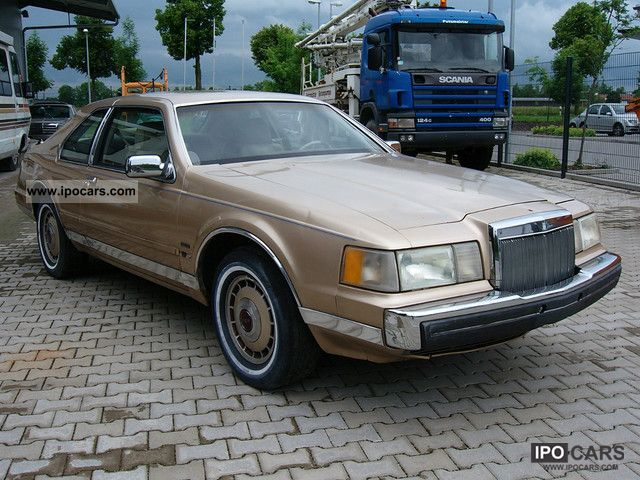 1986 Lincoln Mark Vii Car Photo And Specs