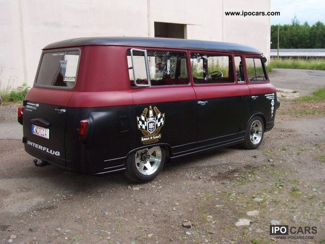 1977 wartburg barkas b1000 bus car photo and specs. Black Bedroom Furniture Sets. Home Design Ideas