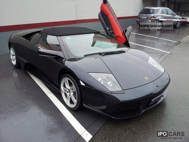 2007 Lamborghini Murcilago Lp640 Roadster Car Photo And Specs
