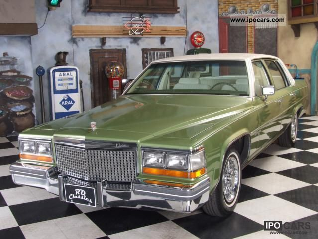 1981 Cadillac Deville - Car Photo and Specs