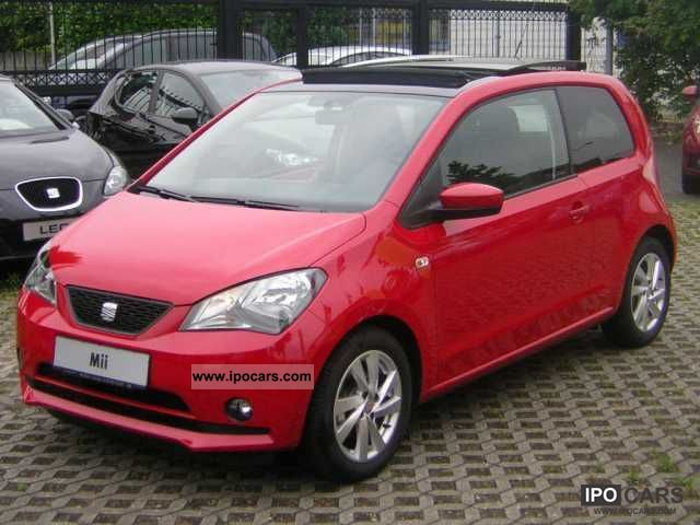 2012 seat mii mii 1 0 mpi 75 sport style sunroof car. Black Bedroom Furniture Sets. Home Design Ideas