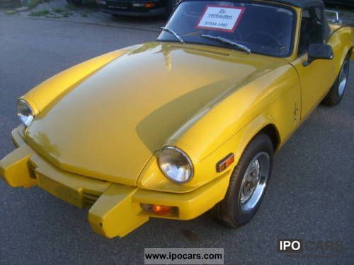 1978 Triumph  1500 U.S. Convertible Cabrio / roadster Used vehicle photo