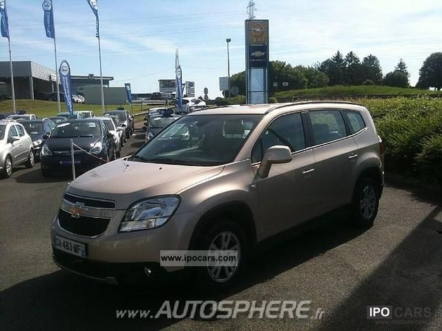 2012 Chevrolet  Orlando ORLANDO 2.0 LT D + 130CV Limousine New vehicle photo