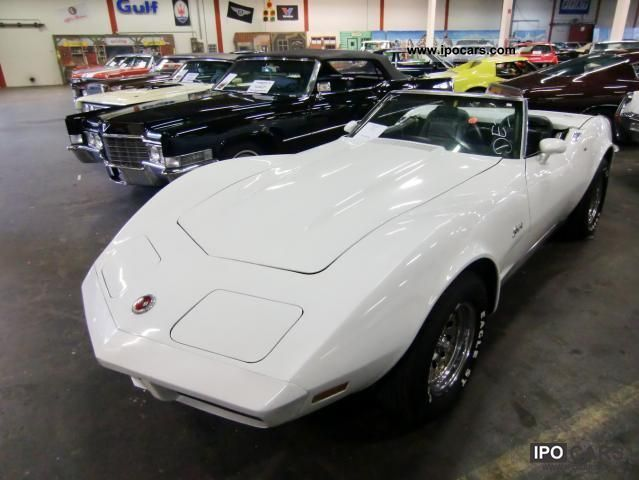 1973 chevrolet corvette c3 convertible car photo and specs. Black Bedroom Furniture Sets. Home Design Ideas