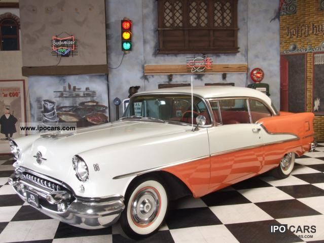 1955 Oldsmobile Super 88 Coupe - Car Photo and Specs