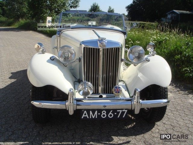 MG  TD TD LHD 1953 Vintage, Classic and Old Cars photo